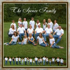 large family pic - not a fan of the all white/jeans combo but the two pics - especially the walking one - is really cool