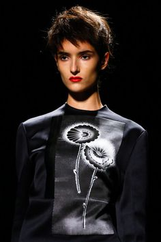 NECKLINE!!! Prada Spring 2013 Ready-to-Wear Collection Slideshow on Style.com