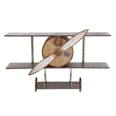 Woodland Imports 54469 The Amazing Metal Wall Plane Decor