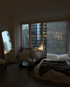 Apartment View, Dream Apartment, Apartment Interior, Room Interior, Room Design Bedroom, Bedroom Decor, Dream Home Design, House Design, Garden Design