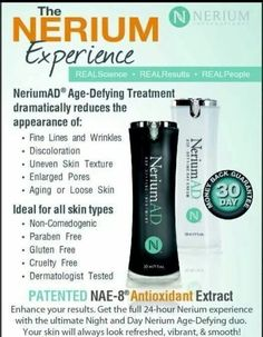 Try Nerium. This skin care cream is absolutely amazing. People are becoming addicted to the results from using this product . Check out our facebook page https://m.facebook.com/profile.php?id=772408086134190  Or just visit our website at www.prestinsmama.nerium.com