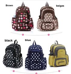 New Baby Diaper Nappy Bag Backpack Free Shipping BP037 | eBay