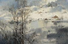 Chien Chung-Wei 簡忠威, 1968 | Romantic Cityscape painter | Tutt'Art@