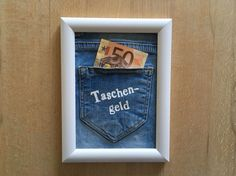 """Money gifts - """"Taschengeld"""" money gift - a designer product of photo cards and . - Money gifts – Money gift """"Taschengeld"""" – a unique product by Fotokartenundmehr on DaWanda - Diy Gifts In A Jar, Diy Gifts For Mothers, Diy Gifts For Friends, Easy Diy Gifts, Best Friend Gifts, Gifts For Kids, Diy Gifts Last Minute, Sorry Gifts, Gifts For Brother"""