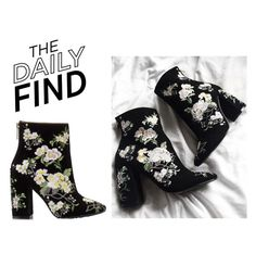"""The Daily Find: Miss Selfridge Boots"" by polyvore-editorial ❤ liked on Polyvore featuring Miss Selfridge and DailyFind"