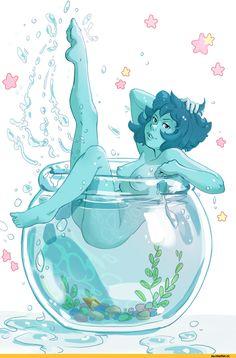 Steven universe,фэндомы,SU art,Lapis Lazuli,SU Персонажи,SU ero