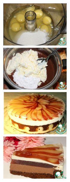 """Bolo """"Primeiro Amor"""" com chocolate passo a passo salve este pin Preparamos os produtos para um biscoito de óleo branco: 1 ovo, 20 gramas de açúcar em pó, 20 gramas de manteiga amaciada, 30 gramas de farinha de trigo#bolo#torta#doce#sobremesa#aniversario#pudim#mousse#pave#Cheesecake#chocolate"""