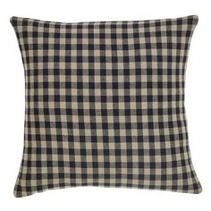The Black Check Fabric Pillow is a great accent to use in your country home. Visit Primitive Star Quilt Shop to see the selection of pillows we offer! Plaid Throw Pillows, Accent Pillows, Decorative Throw Pillows, Pillow Fabric, Cotton Pillow, Pumpkin Patch Farm, Primitive Bedding, Check Fabric, Bedroom Accessories