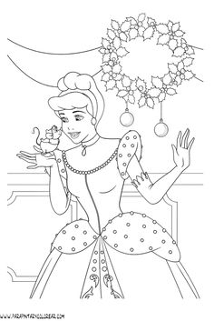 Cinderella Coloring Pages, Barbie Coloring Pages, Disney Princess Coloring Pages, Disney Princess Colors, Colouring Pages, Coloring Books, Free Kids Coloring Pages, Coloring Pages For Kids, Barbie Drawing