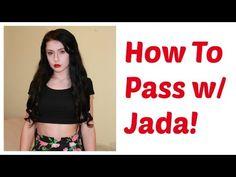 Transgender | How To Pass - YouTube Transgender Tips, Transgender People, Jazz Jennings, Trans Mtf, Male To Female Transformation, Genderqueer, Jada, Women Brands, Crossdressers