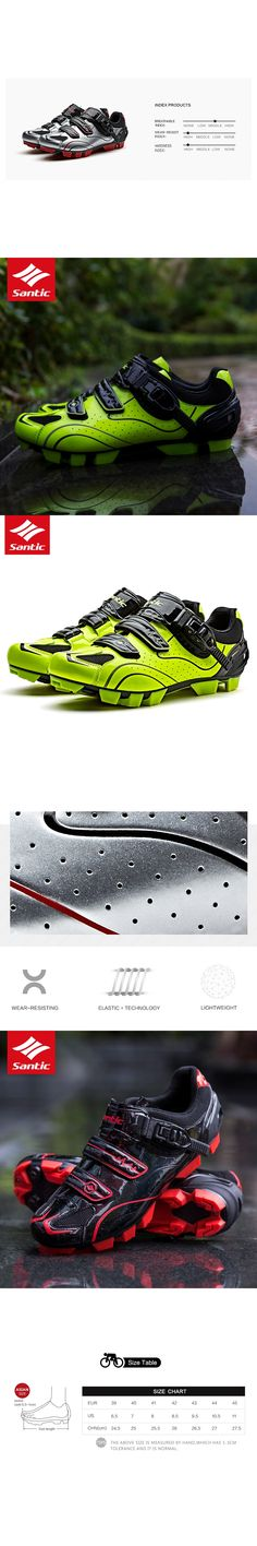 SANTIC Cycling MTB Shoes Racing Soles Mountain Biking Shoes Cycling Sport Breathable Athletic Sapatilha Ciclismo Mtb 3 Colors