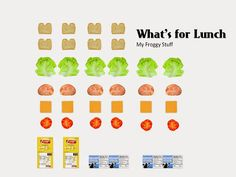 My Froggy Stuff: What's for Lunch? Dollhouse Lunch Bags with Sandwiches