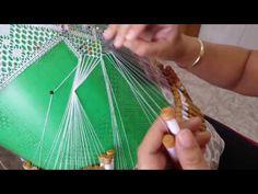 Puntilla Florecitas ,unión de las hojitas - YouTube
