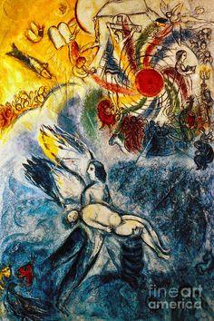 Chagall: Creation Photograph  - Chagall: Creation Fine Art Print