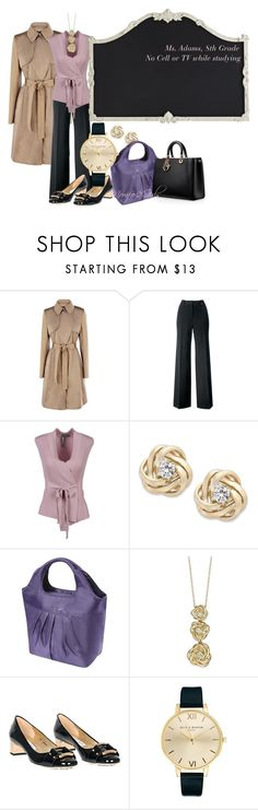 """""""Middle School Here She Comes"""" by momfor2girls on Polyvore featuring Karen Millen, Mix & Match, Hoss Intropia, Wrapped In Love, Rachael Ray, Jimmy Choo, Olivia Burton and Pier 1 Imports"""