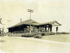 Historical Flossmoor Train Station Before It Became A Brewery