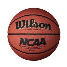 Wilson NCAA Solution Game Basketball (Intermediate Size)
