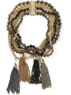 Rosantica Bead And Chain Necklace - Splash By The Beach - Farfetch.com