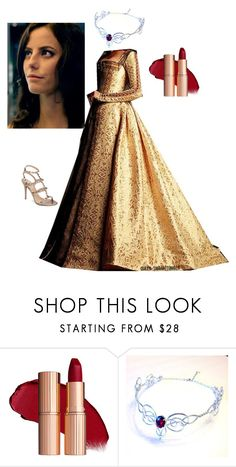 """""""1600s - Astrid Mikaelson"""" by fandomqueen-378 ❤ liked on Polyvore featuring Trianon and Valentino"""