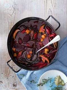 Iron Pan, Portobello, Healthy Cooking, Food And Drink, Meat, Kitchen, Recipes, Buxus, Cooking