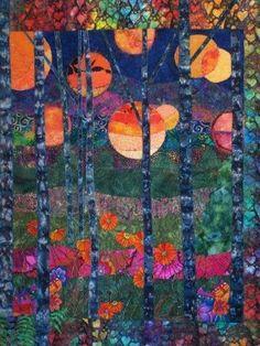 landscape quilt by Sharon Christmas-Duke