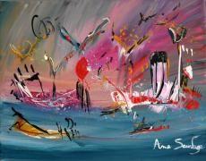 le spectacle des oiseaux réalisé par l'artiste peintre contemporain ame sauvage   http://www.amesauvage.com/artiste-peintre-contemporain-2/tous-les-tableaux/tableau-oiseau.html