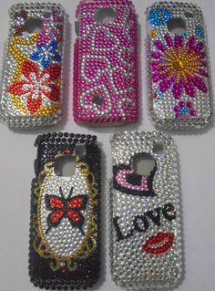 for nokia c1-01 hard back case diamond type studds party wear new designer