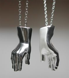 Hand of Prometheus in Sterling Silver [S1080] - $240.00 : POTUS31.com, Hand Made Jewelry & Sculptures by artist Herbert Hoover