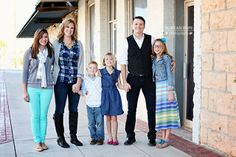 urban family portraits - dorean pope photography