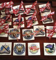 Had these coasters made with our BN logo, as well as the logos of the companies.