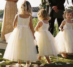 vestido dama de honra criança rustico - Pesquisa Google