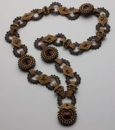 BeJeweled Necklace Instructions by DianeDennisBeadwork on Etsy