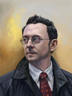 Harold Finch by *FluorineSpark on deviantART* this is amazing!