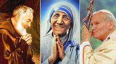 10 Santos que nos ensinam a viver o Ano da Misericórdia...  :)