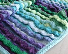 Crochet Pattern, Eventide Blanket, Baby, Afghan, Throw