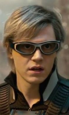 Evan Peters as Peter Maximoff/Quicksilver, the most exciting Character in the X-Men Franchise.