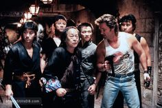 A gallery of Big Trouble In Little China publicity stills and other photos. Featuring Kurt Russell, Dennis Dun, Kim Cattrall, John Carpenter and others. Cinema Movies, Cult Movies, Kid Movies, Great Movies, Film Movie, 80s Movie Characters, Kate Burton, James Hong, China Movie
