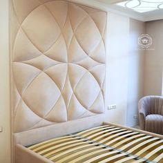 Home Decorating Ideas Kitchen and room Designs Luxury Bedroom Design, Bedroom Bed Design, Bedroom Decor, Bed Headboard Design, Headboards For Beds, Sofa Design, Upholstered Wall Panels, Room Interior, Interior Design