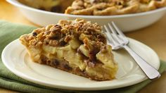 Refrigerated crust and cookie dough are the secret weapons in this easy apple pie with old-fashioned country caramel taste. From Gloria Piantek, Bake-Off® Monthly Challenge.