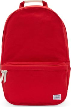 Porter: Red Colorama Backpack | SSENSE
