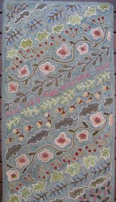 Nature's Dance by Marijo Taylor-Pattern Only or Complete Rug Hooking Kit Rug Hooking Kits, Rug Hooking Patterns, Vinyl Storage, Rug Inspiration, Web Gallery, Bag Storage, Textile Art, Rug Size, How To Draw Hands