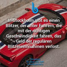In Deutschland wäre das auch ne Anregung Geschwindigkeitsbegrenzungen einzuhalten
