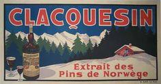 Clacquesin / 75 x 38 in (191 x 97 cm)