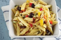 Penne salad: Try this pasta salad when you simply want something light but nutritious to eat! Dips, Recipe For Success, Cooking Recipes, Healthy Recipes, Food Categories, Mediterranean Recipes, Greek Recipes, Penne, Pasta Salad