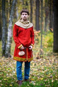 Norway odalsman: dress (viking age style). Weaving, dyeing and sewing done by hand. All information and price - leruka@yandex.ru