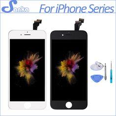 SANKA AAA Para el iphone 5 5S 6 6 PLUS 6 S LCD Módulo de pantalla Táctil de Reemplazo Digitalizador Pantalla Del Teléfono Pantalla Lcd Partes asamblea