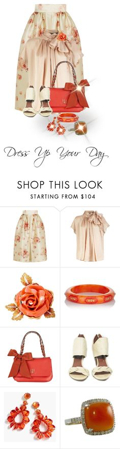 """A Day Out In The City"" by shamrockclover on Polyvore featuring Vilshenko, Mark Davis, Carolina Herrera, Elizabeth and James and J.Crew"