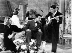 Doris Nolan Katharine Hepburn, Cary Grant, and Lew Ayres in Holiday (1938)