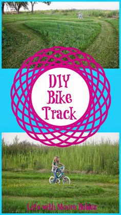 Life with Moore Babies: DIY Bike Track