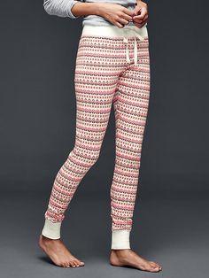 Printed cotton leggings Product Image